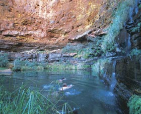 Dales Gorge and Circular Pool - Accommodation QLD